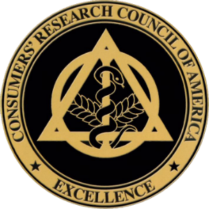 consumers' research council of america excellence award